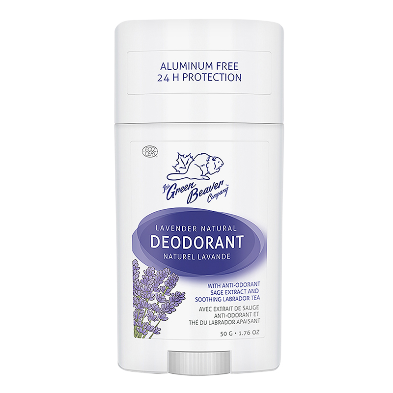 The Green Beaver Company Natural Deodorant - Lavender - 50g