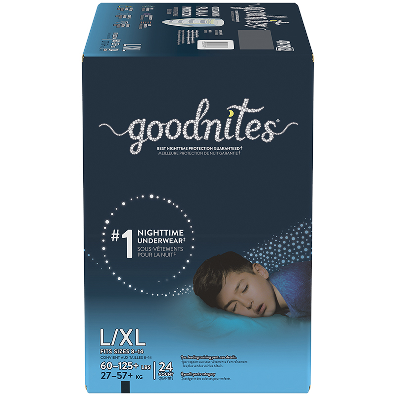 GoodNites Underwear for Boys - Large/Extra Large - 24's