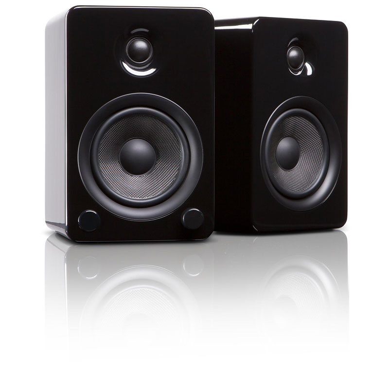 Kanto YU5 Powered Bookshelf Speakers - Pair