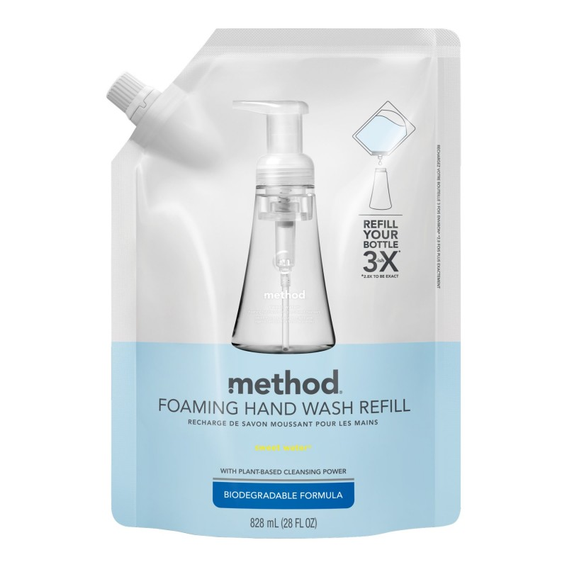 Method Foaming Handwash Refill - Sweet Water - 828ml