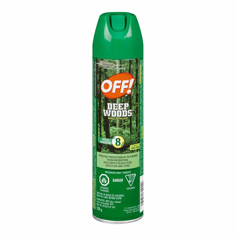 OFF! Deep Woods Insect Repellant - 230g