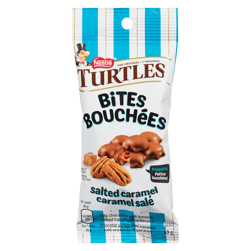 Nestle Turtles Bites - Salted Caramel - 41g