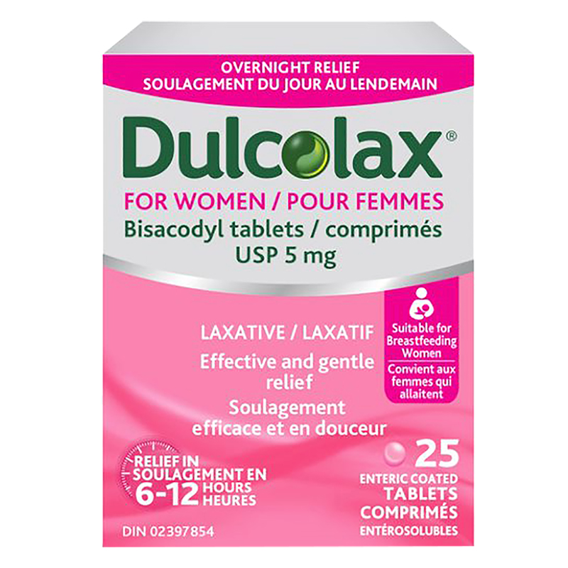 Dulcolax For Women Laxative Tablets - 25's