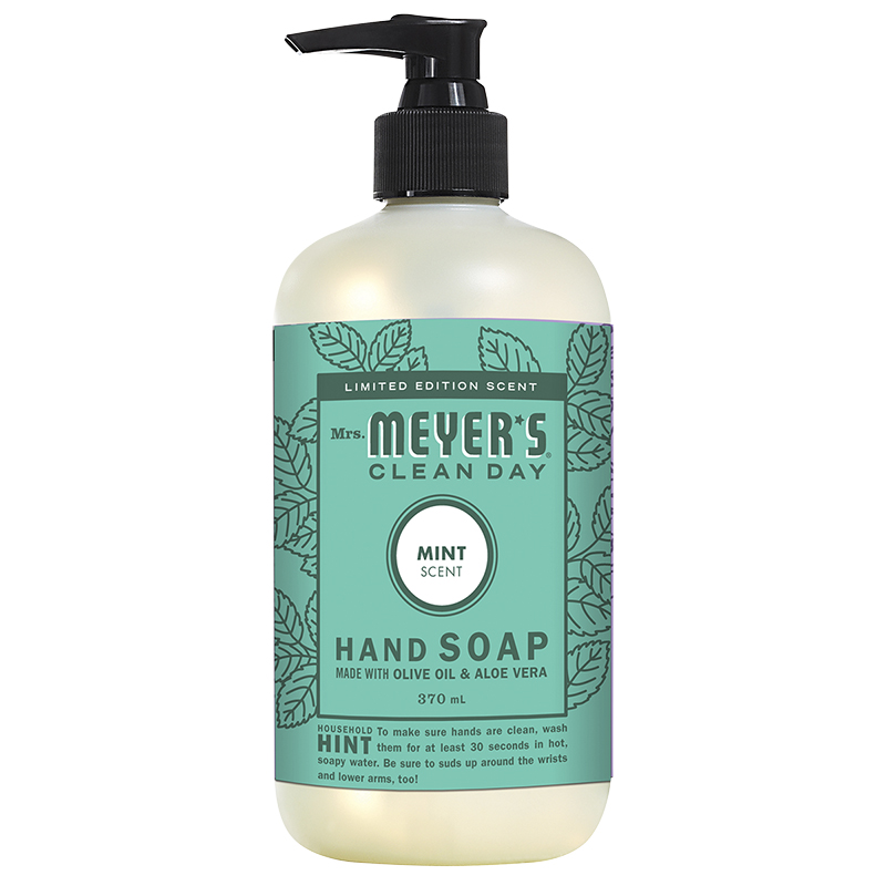 Mrs. Meyer's Clean Day Hand Soap - Mint - 370ml