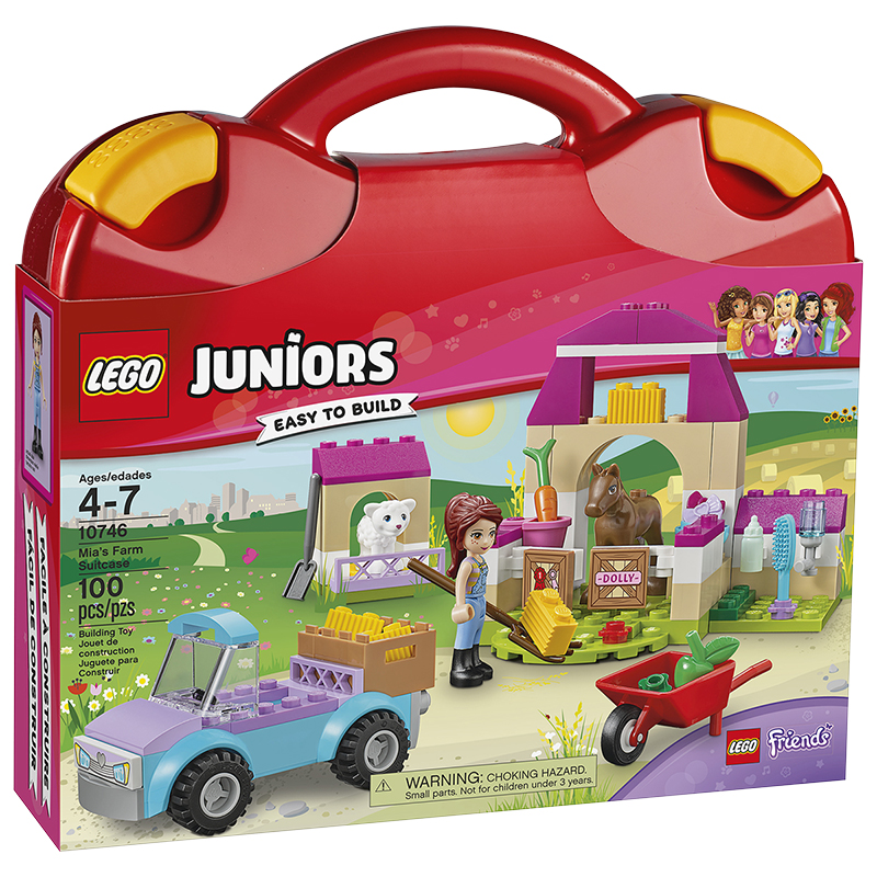 LEGO Juniors - Mia's Farm Suitcase