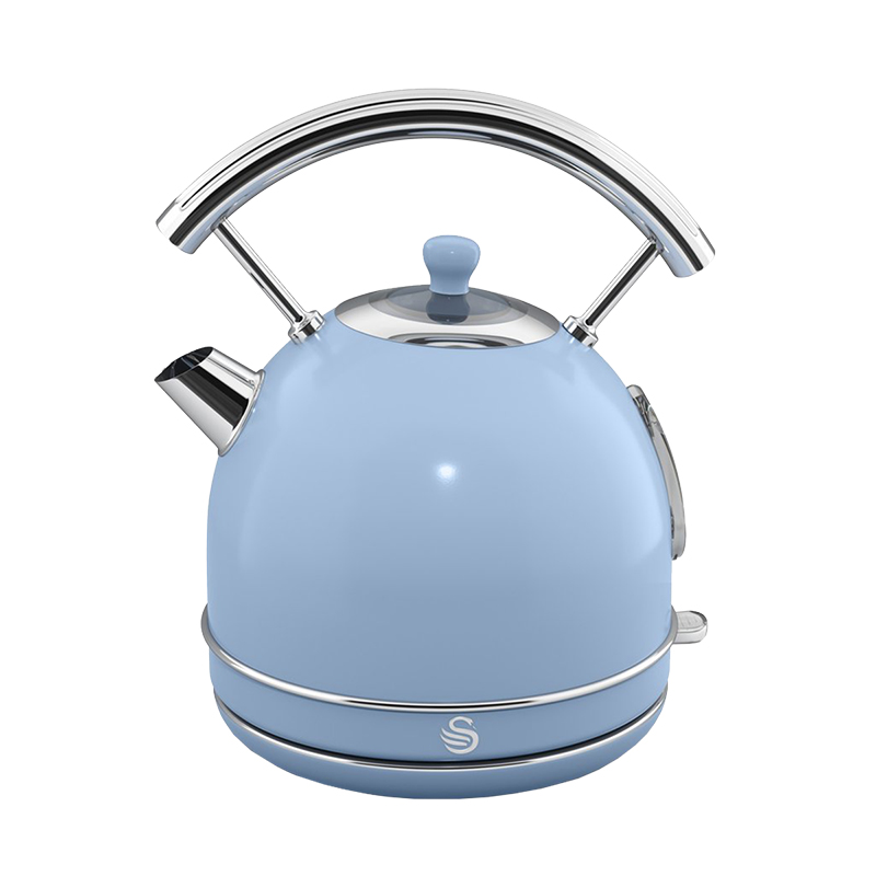 Swan Retro Kettle - Blue - 1.7L