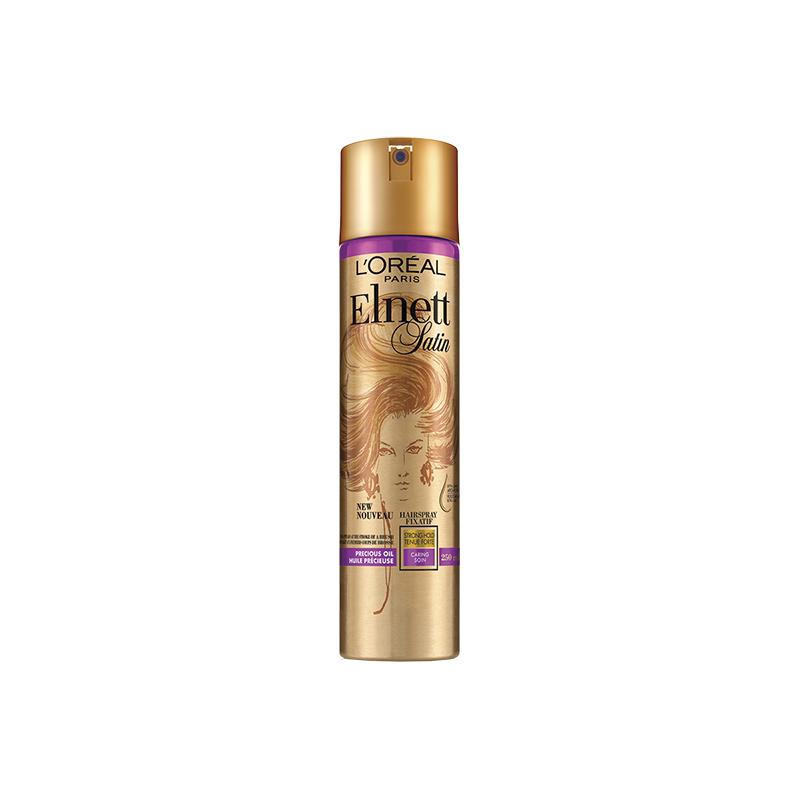Elnett Satin Precious Oils Argan Hairspray - Strong Hold - 250ml