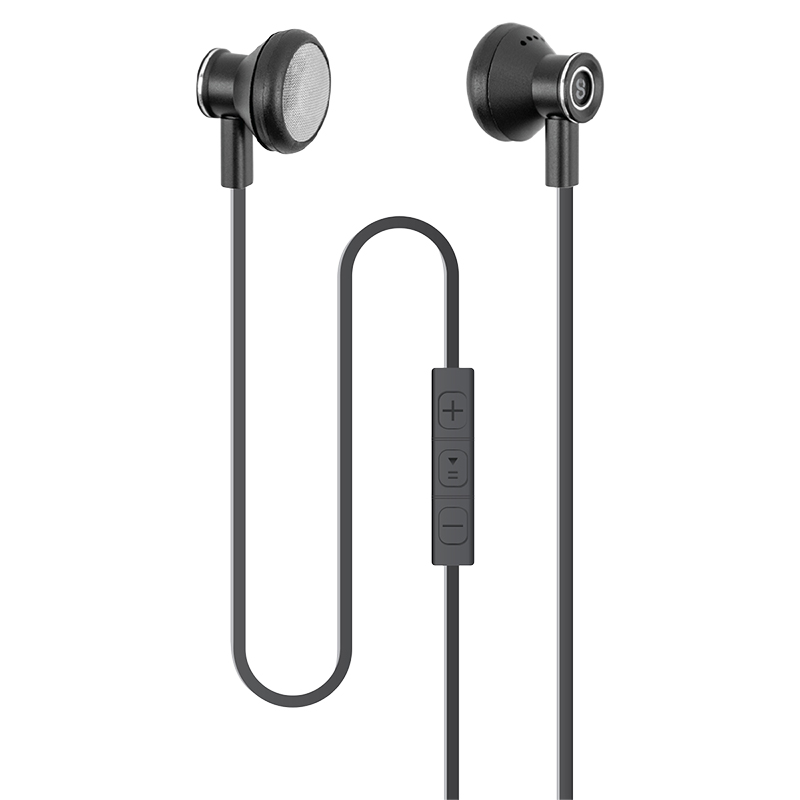 Logiix Tempo In-Ear Headphones - Black - LGX12710