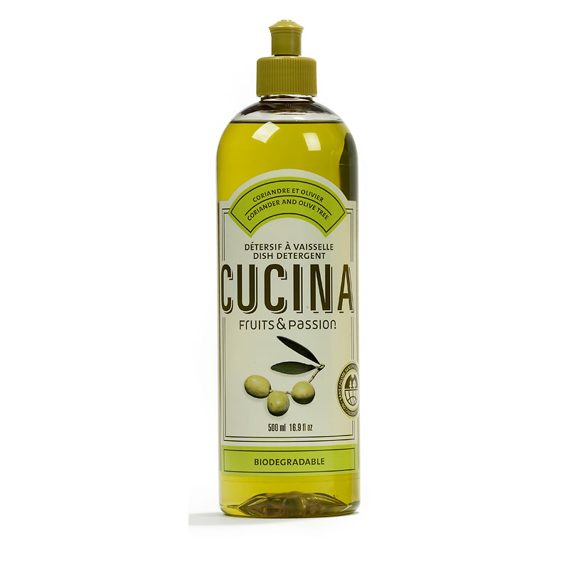 Fruits & Passion Cucina Dish Soap - Coriander and Olive Tree - 500ml