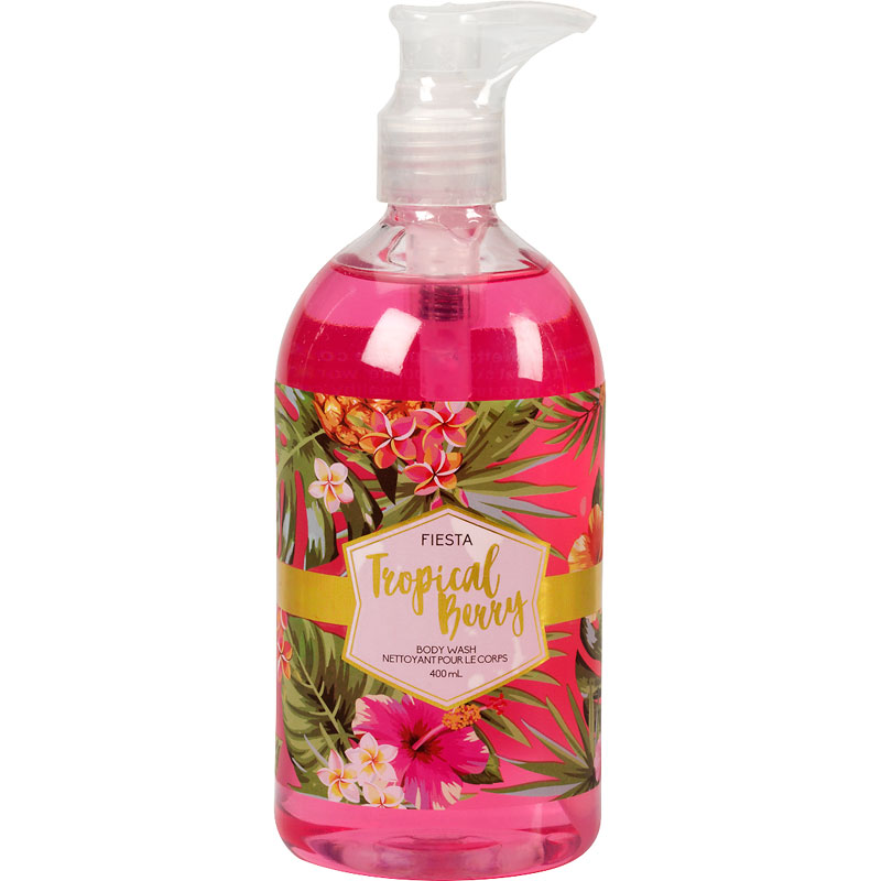Fiesta Tropical Body Wash - Tropical Berry - 400ml