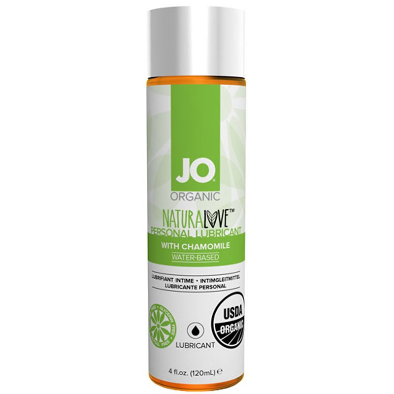 JO Organic Natural Love Personal Lubricant with Camomile - 120ml