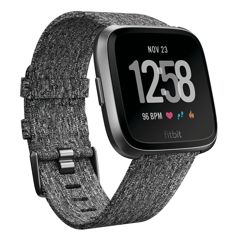 Fitbit Versa SE Smartwatch - Charcoal