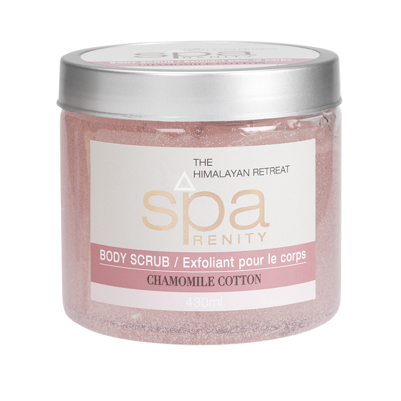 SpaRenity The Himalayan Retreat Body Scrub - Chamomile Cotton - 430ml