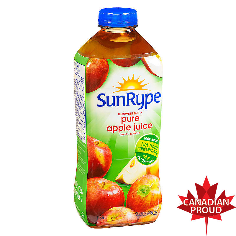 SunRype Pure Apple Juice - 1.36L