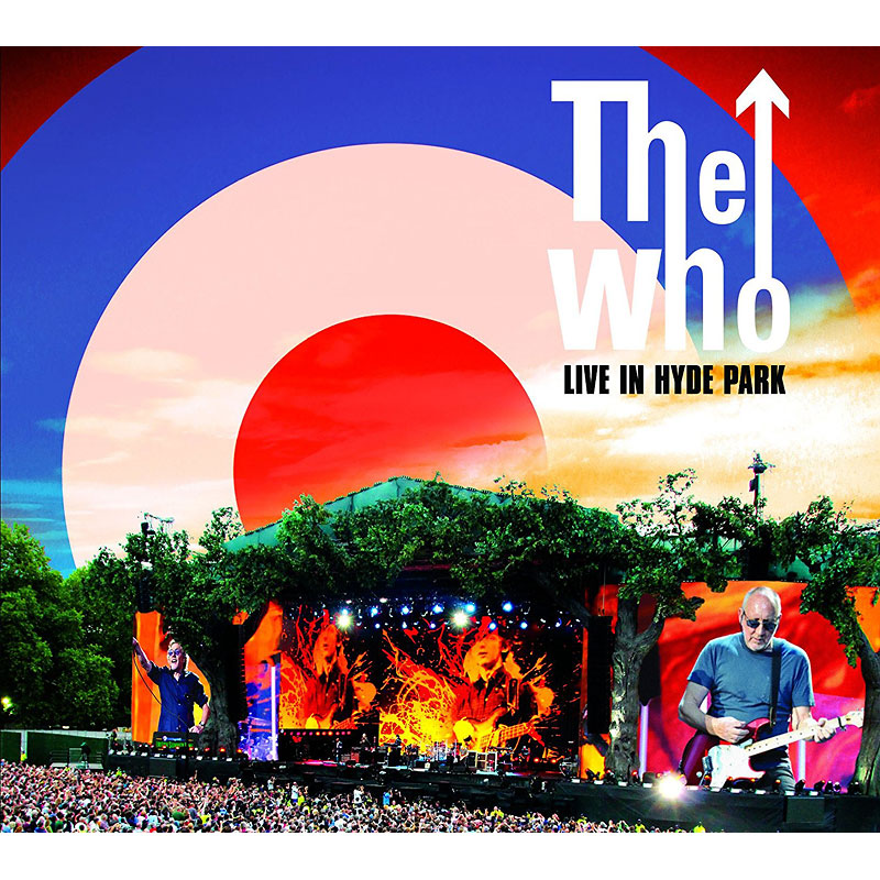 The Who Hits 50: Live in Hyde Park - DVD + 2 CD