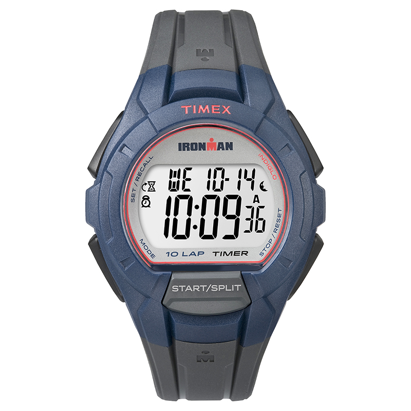 Timex Ironman Full Size Watch - Grey/Blue - TW5K94100GP