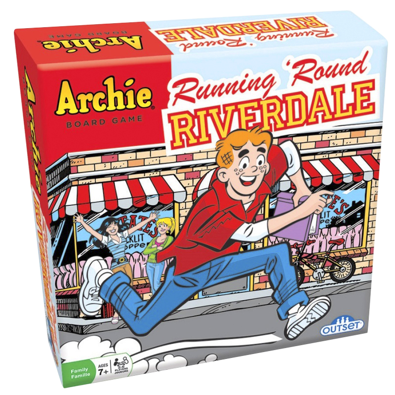 Balance Board London Drugs: Archie Riverdale Running Round Board Game