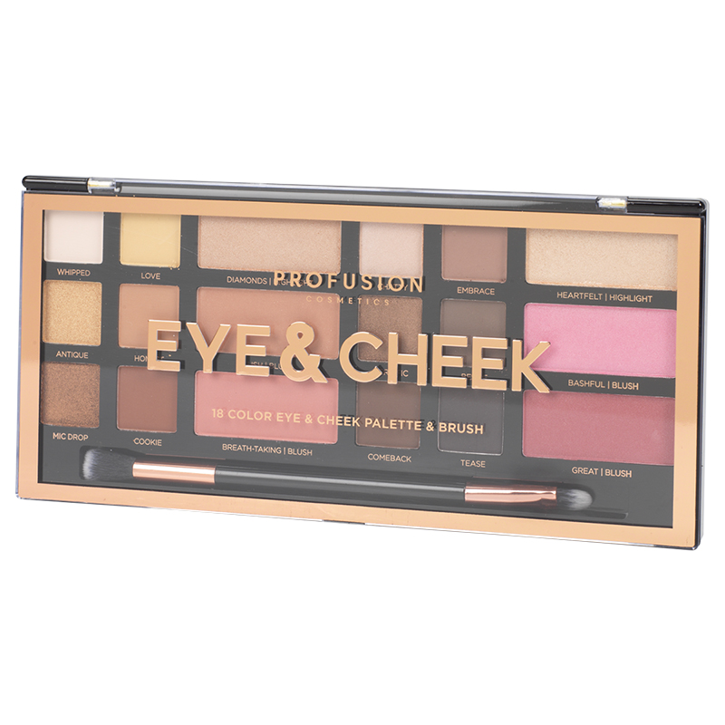 Profusion Eye & Cheek Artistry Palette - 18 shades