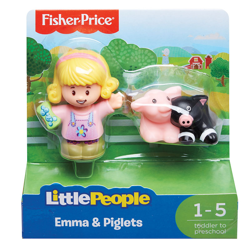 Fisher Price Little People Emma and Piglets