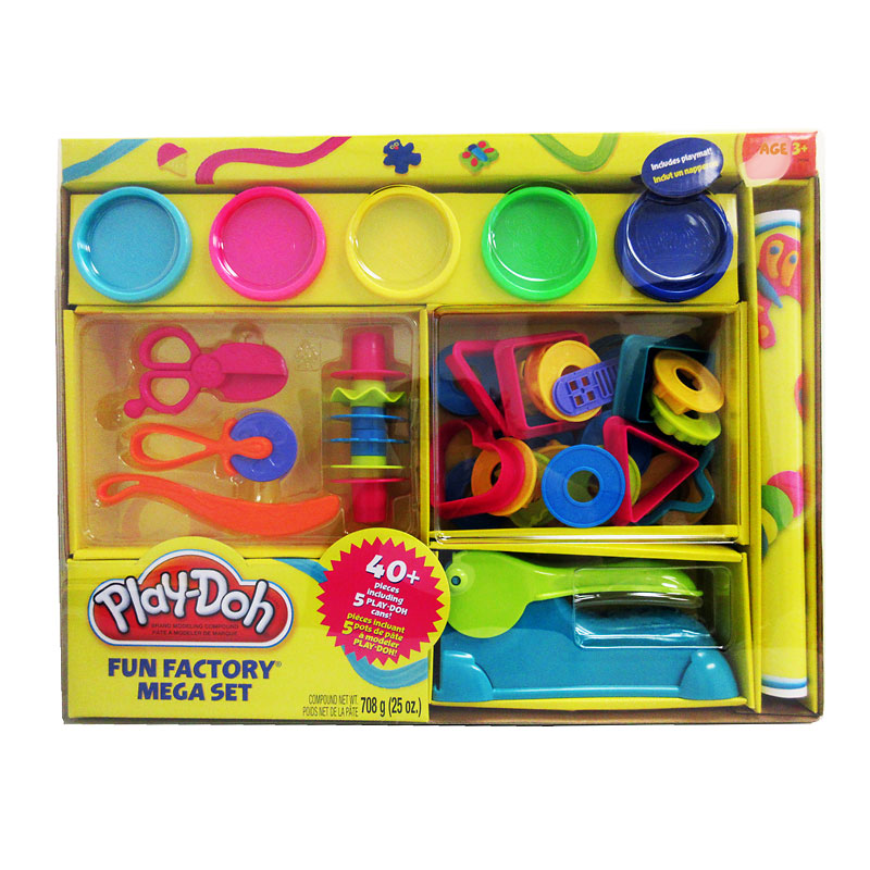 Play-Doh Fun Factory Mega Playset
