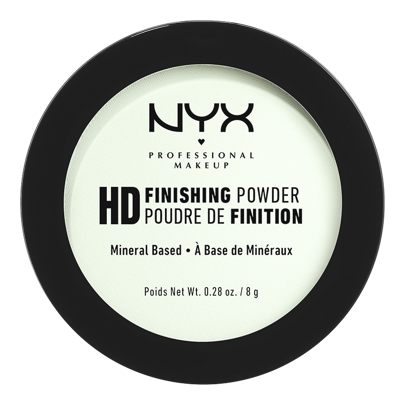NYX Professional Makeup High Definition Finishing Powder - Mint Green