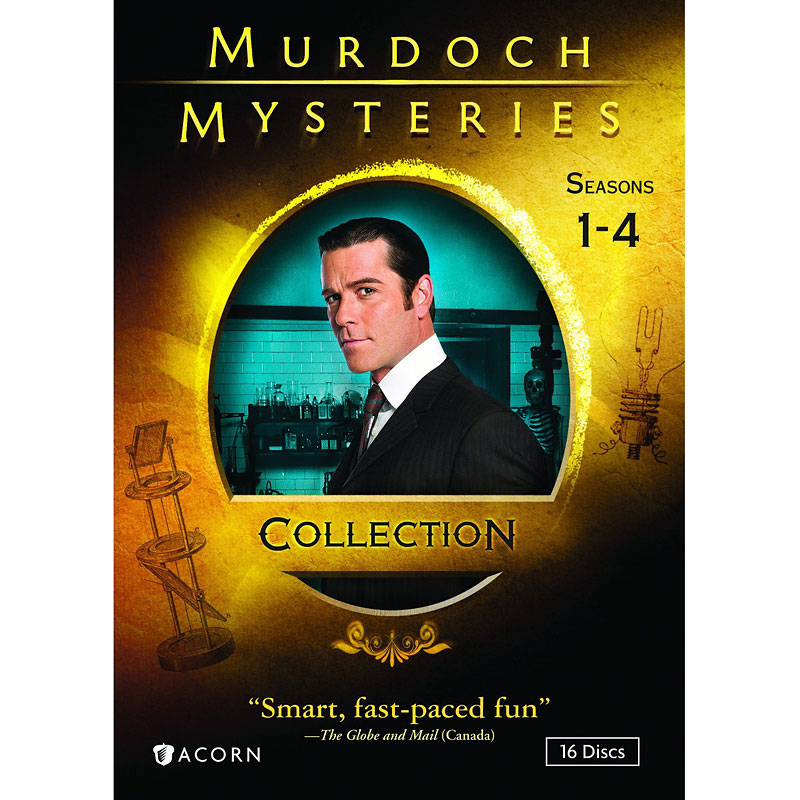 Murdoch Mysteries Collection - DVD