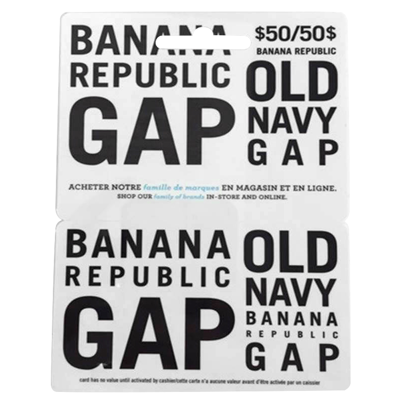 Gap Options Gift Card - $50