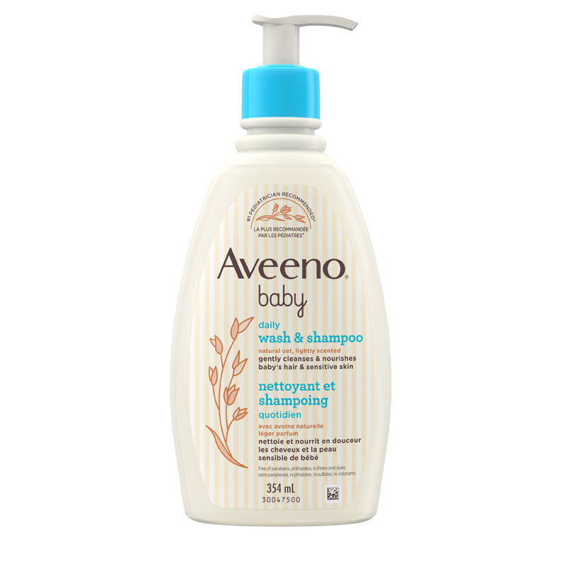 Aveeno Baby Wash & Shampoo - 354ml