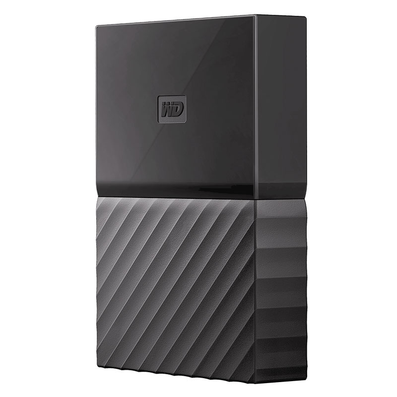 WD 4TB My Passport For Mac USB 3.0 Portable Storage - Black - WDBP6A0040BBK-WESE