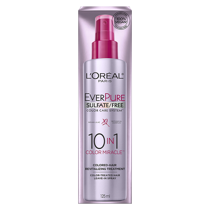 L'Oreal EverSleek 10in1 Color Miracle Revitalizing Treatment - 125ml