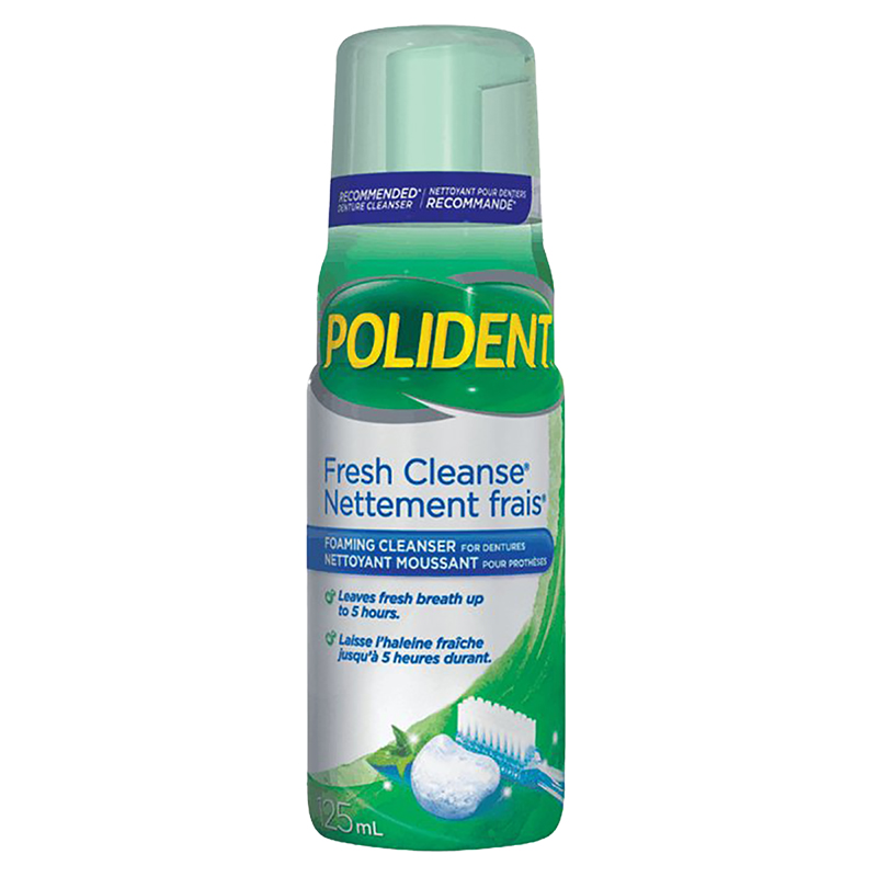 Polident Fresh Cleanse - 125ml