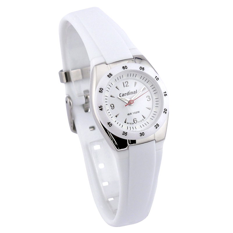Cardinal Ladies Casual Watch - White - 1034