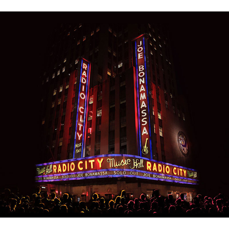 Joe Bonamassa - Live At Radio City Music Hall - CD + Blu-ray