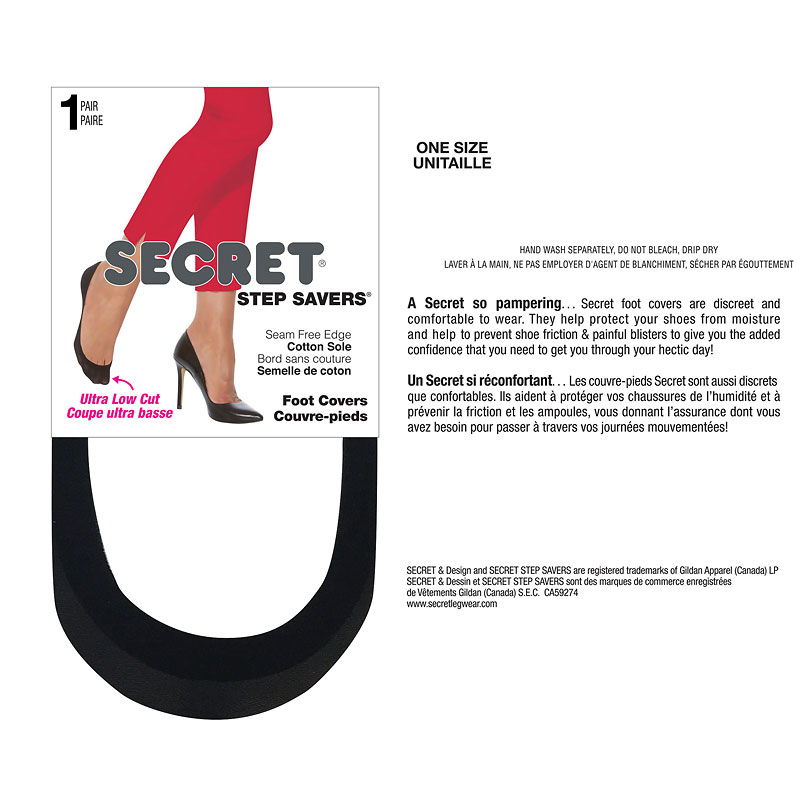 Secret Step Saver Seam Free Edge - Black