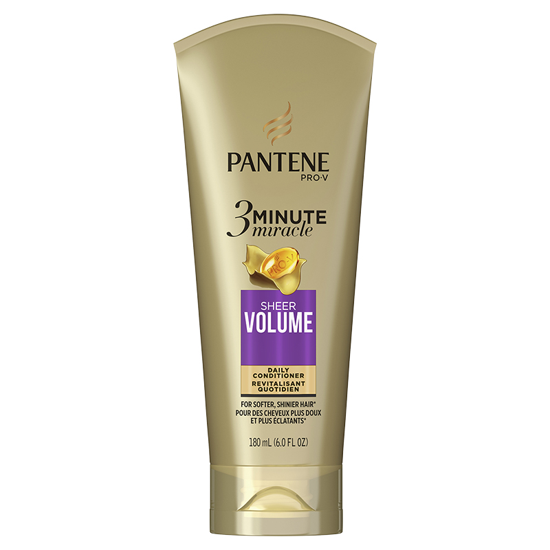 Pantene Pro-V 3 Minute Daily Conditioner - Sheer Volume - 180ml
