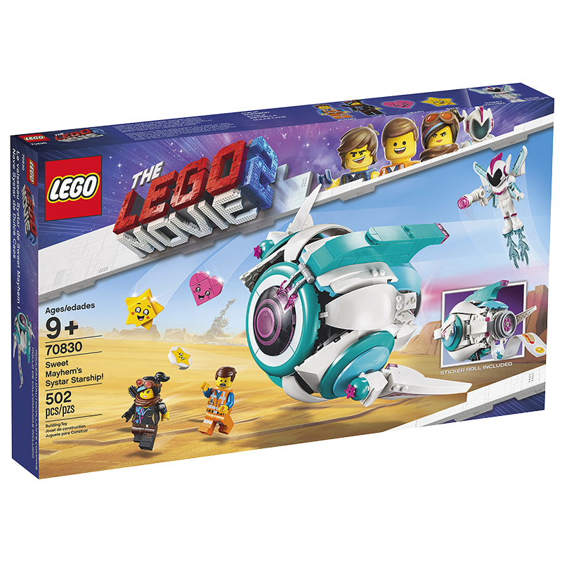 LEGO® Movie 2 - Sweet Mayhem's Systar Starship! - 70830