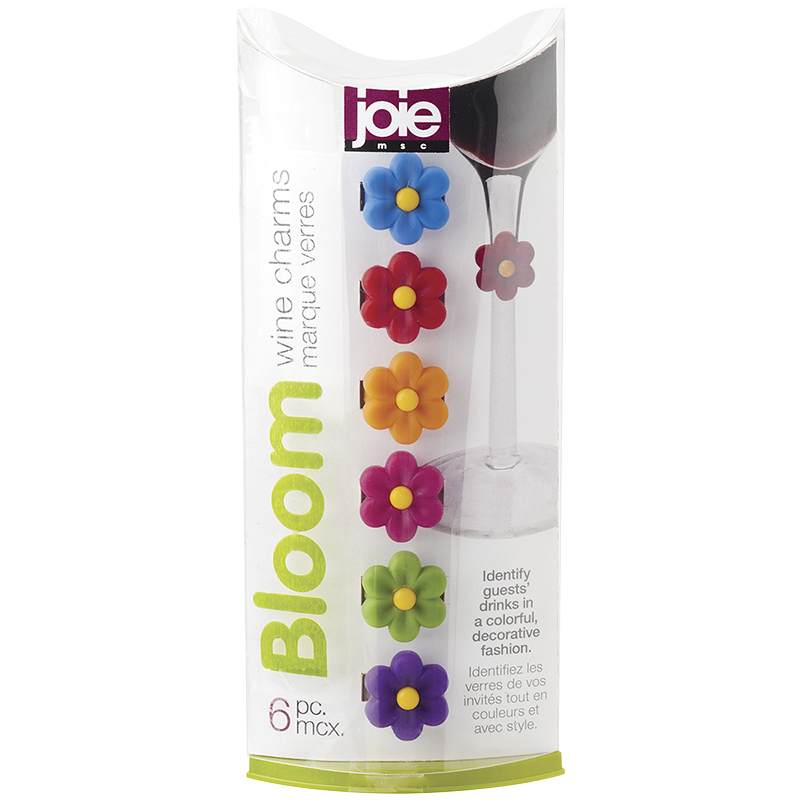 MSC Bloom Wine Charms - 6 pack