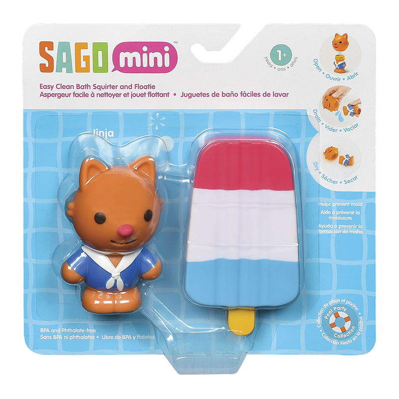 Sago Mini Bath Squirter & Floaty - Assorted