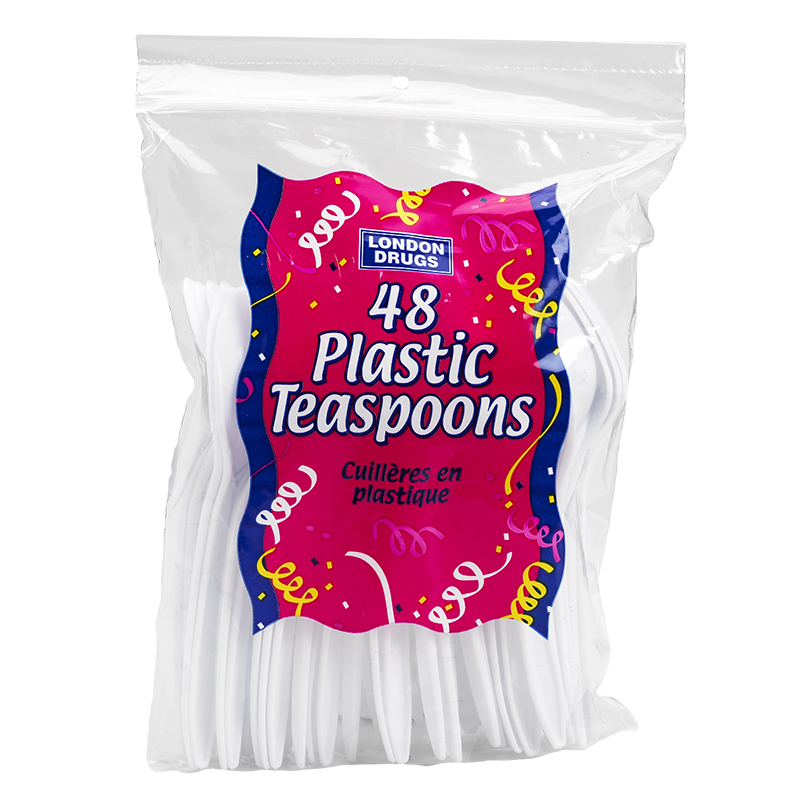 London Drugs Plastic Teaspoons - 48's