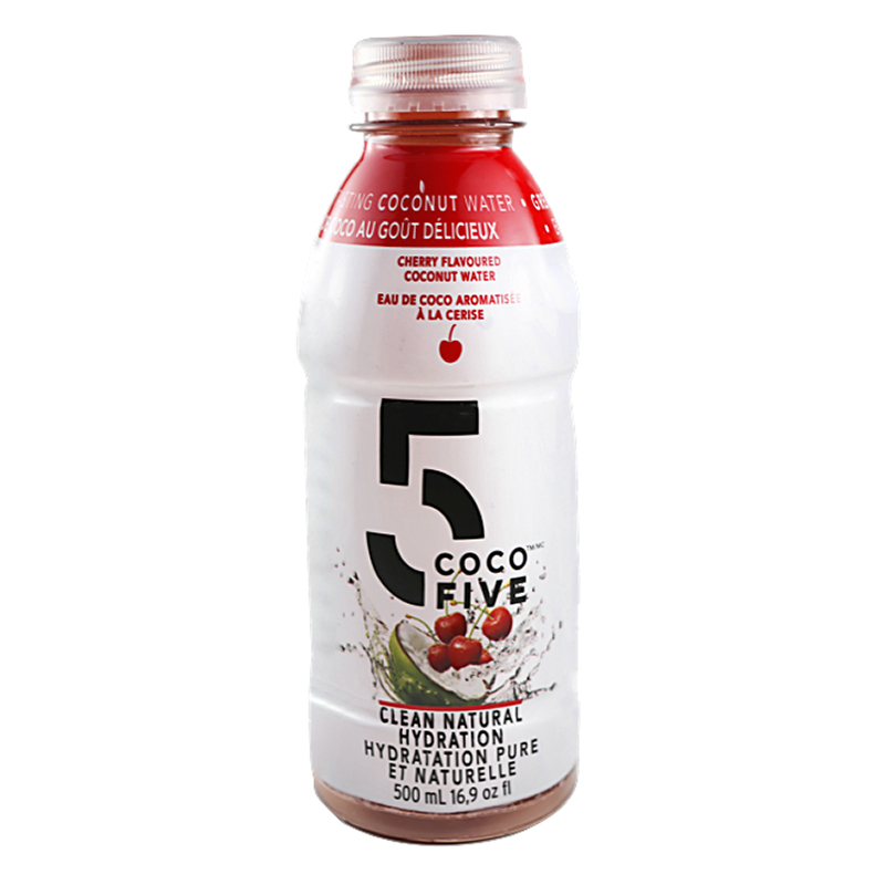COCO5 Coconut Water - Cherry - 500ml