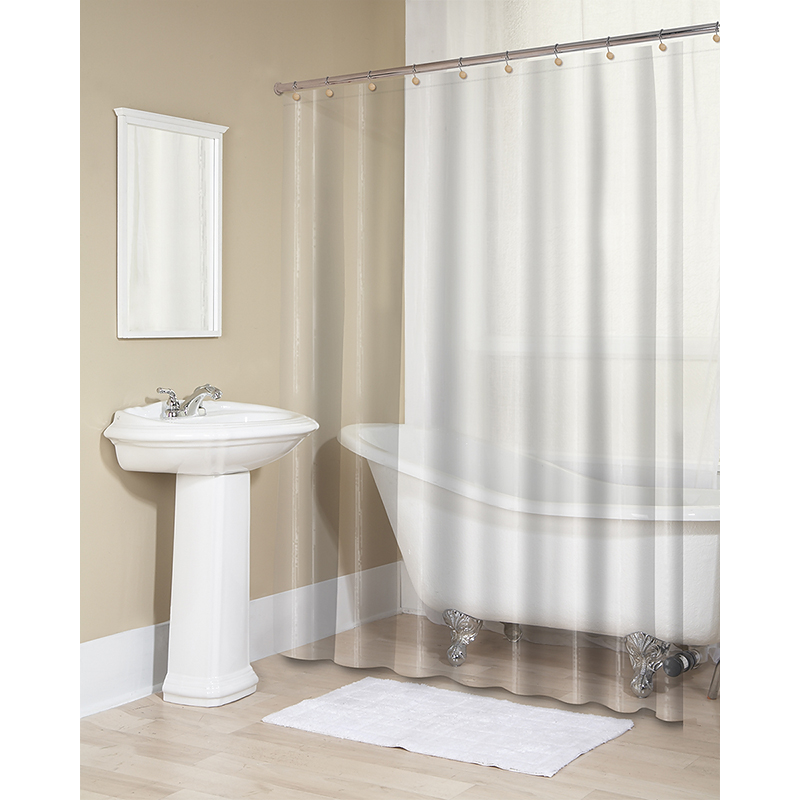 Splash Eva Shower Curtain Liner - Clear