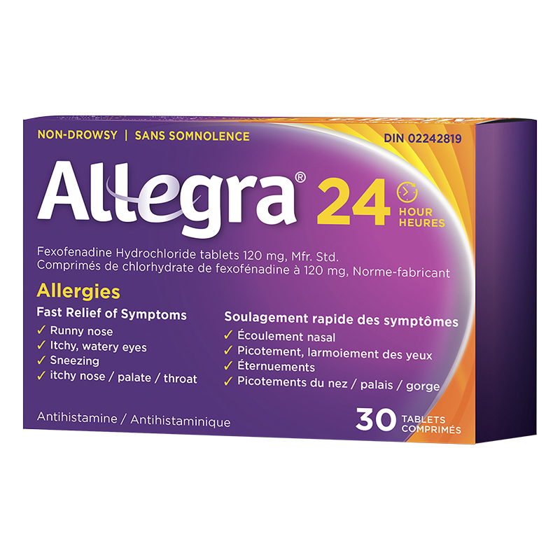 Allegra 24 Hours Allergies - 120mg/30's