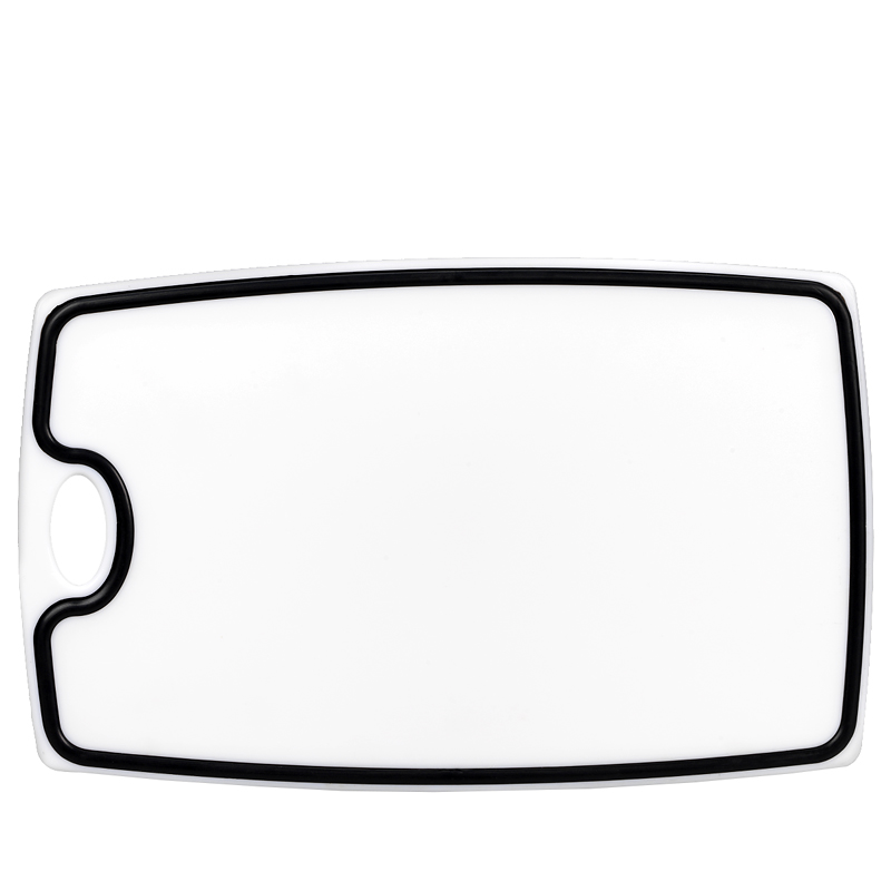 London Drugs Cutting Board - White/Black - 35.5 x 22 x 1cm