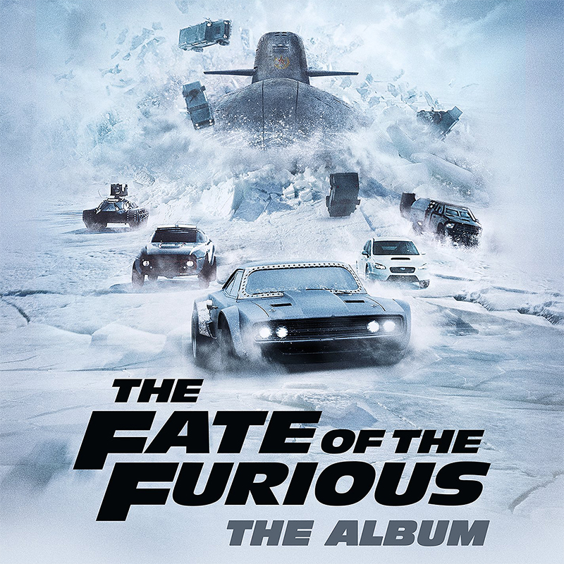 Soundtrack: The Fate of the Furious: The Album - CD