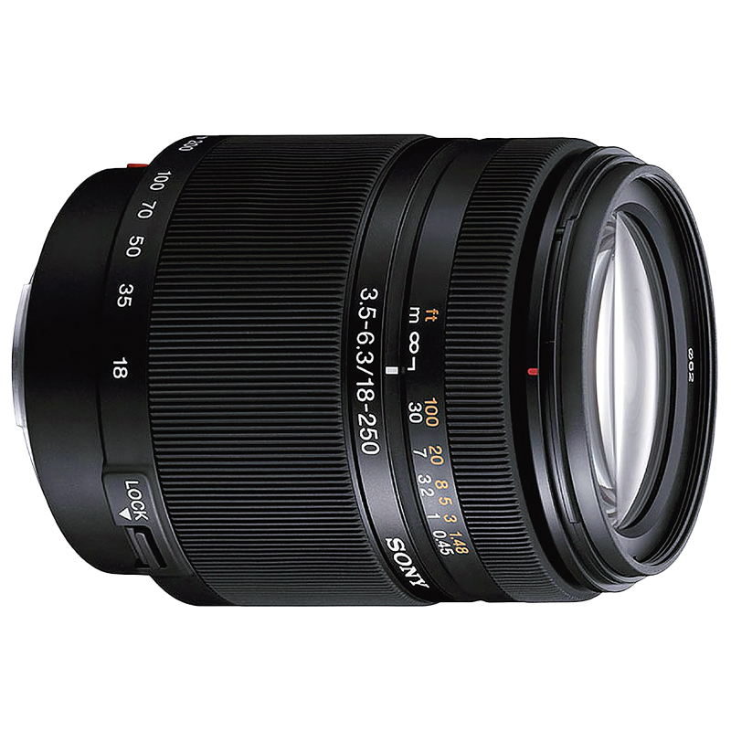 Sony 18-250mm f/3.5-6.3 DT Lens - SAL18250 - Open Box Display Model