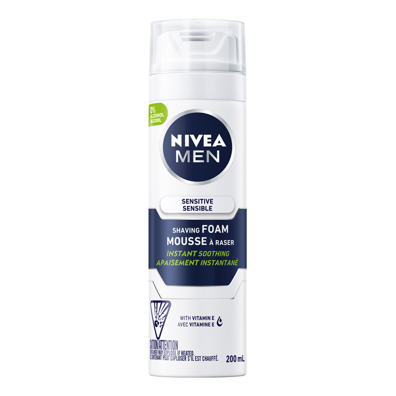 Nivea for Men Sensitive Skin Shaving Foam - 200ml