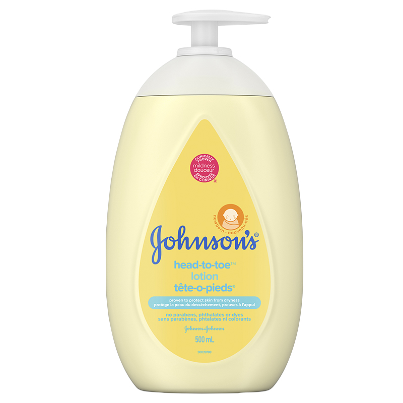 Johnson & Johnson Head-to-Toe Lotion - 500ml