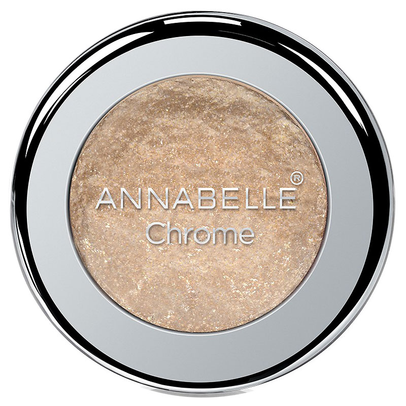 Annabelle Chrome Single Eyeshadow - Gold