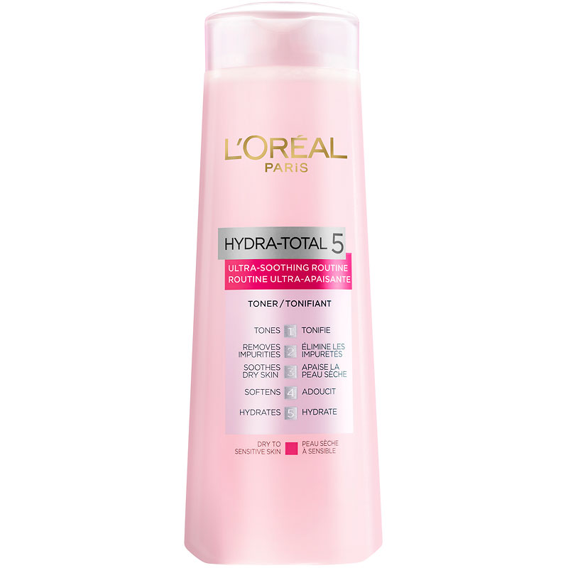 L'Oreal Hydra-Total 5 Ultra-Smoothing Routine Toner - 200ml