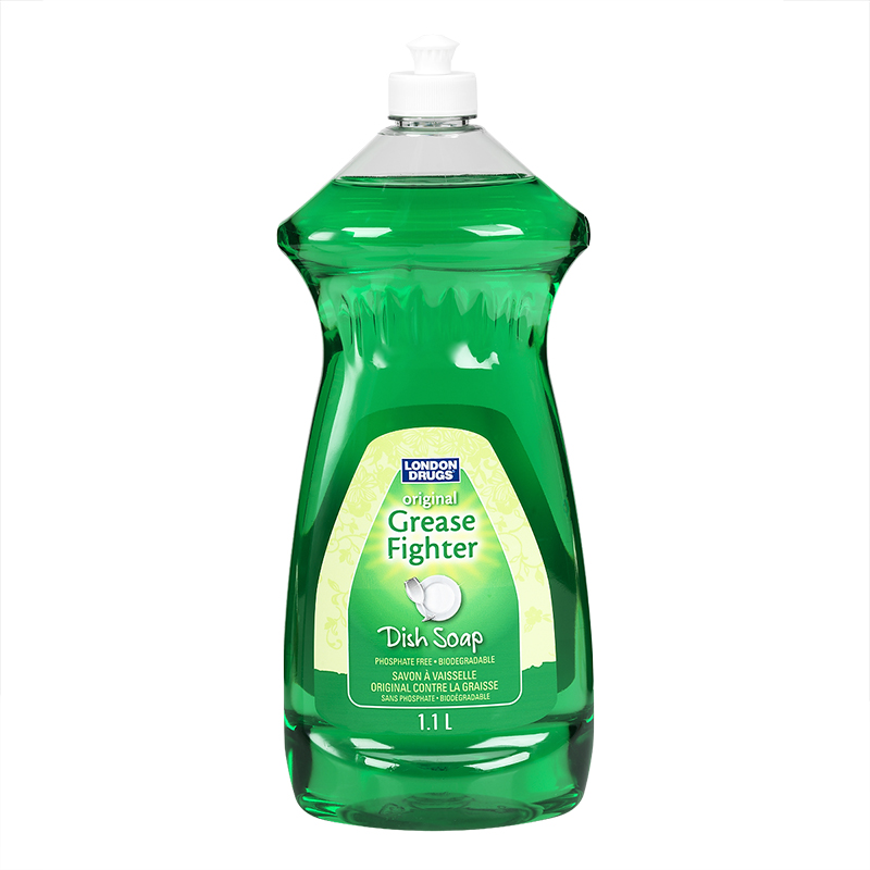 London Drugs Dish Soap - Grease Fighter - 1.1L